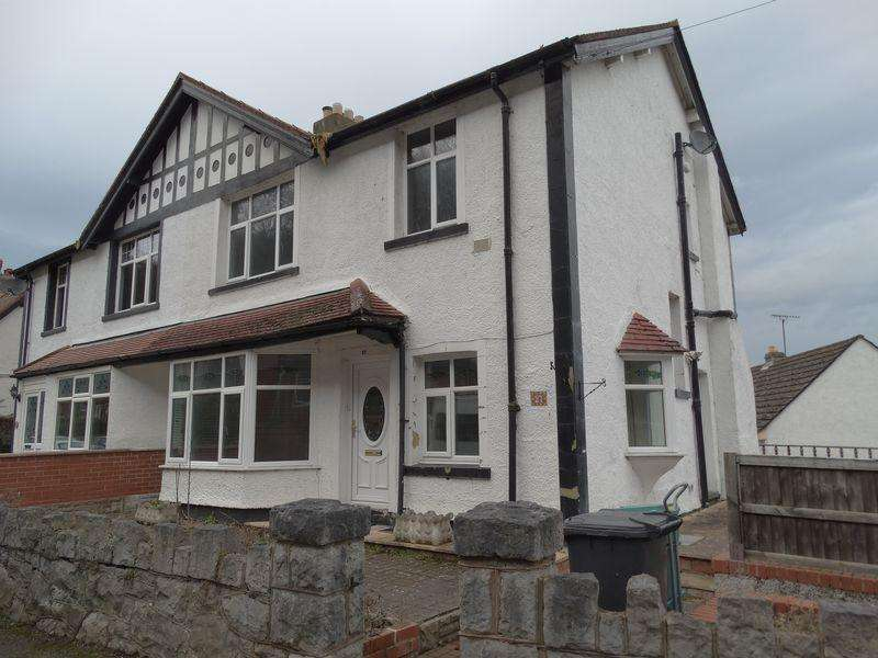 3 Bedrooms Semi Detached House for sale in Seafield Road, Colwyn Bay