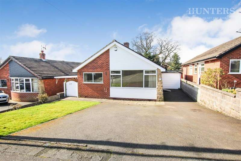 2 Bedrooms Detached Bungalow for sale in Kenley Avenue, Endon, Stoke-on-Trent, ST9 9HX