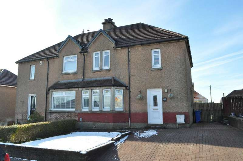 3 Bedrooms Semi Detached House for sale in Balvie Road, Milngavie, East Dunbartonshire, G62 7ED