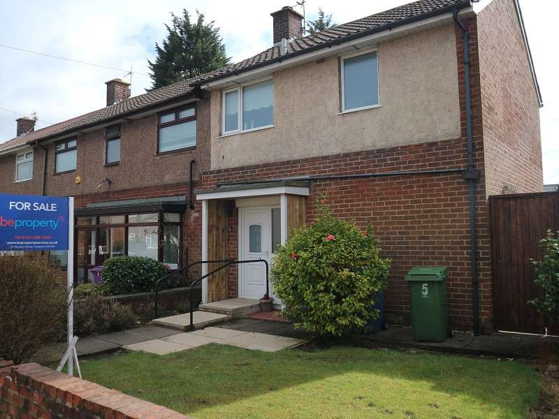 2 Bedrooms End Of Terrace House for sale in Bardon Close, Liverpool, Merseyside. L25 3SB