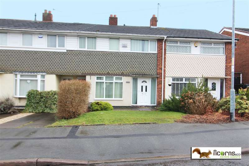 3 Bedrooms Terraced House for sale in Tapton Close, Walsall