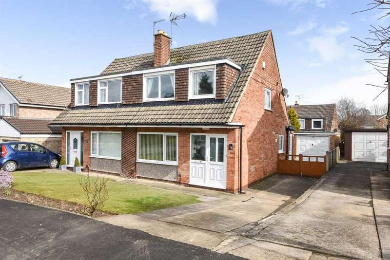 3 Bedrooms Semi Detached House for sale in Linton Drive, Leeds