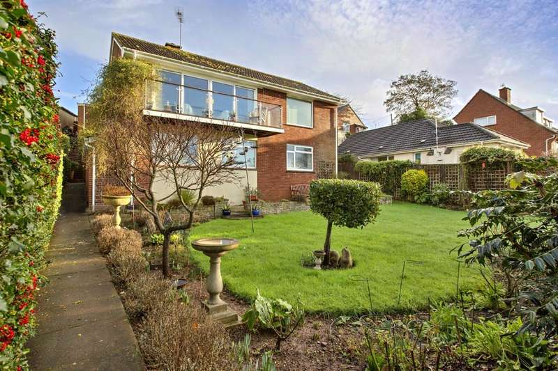 4 Bedrooms Detached House for sale in Sir Alex Walk, Topsham