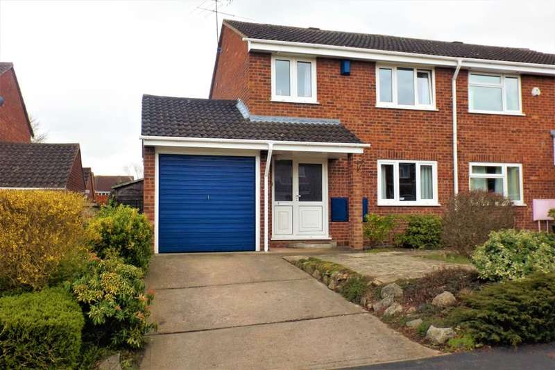 3 Bedrooms Semi Detached House for rent in Threshfield Drive, Home Meadow, Worcester, WR4