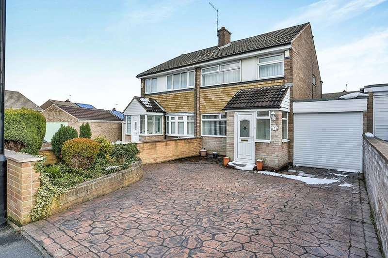 3 Bedrooms Semi Detached House for sale in Medlock Croft, Handsworth, Sheffield, S13