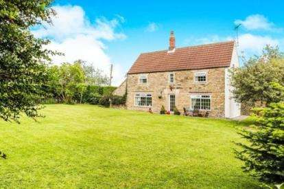 4 Bedrooms Detached House for sale in Deep Lane, Hardstoft, Chesterfield, Derbyshire