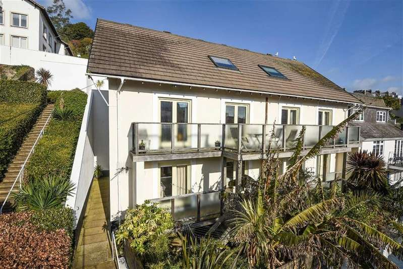 3 Bedrooms Semi Detached House for sale in Vicarage Hill, Dartmouth, Devon, TQ6
