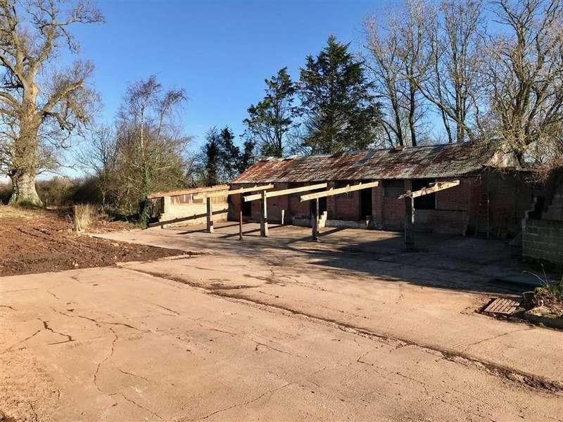 3 Bedrooms Residential Development Commercial for sale in Aunk, Clyst Hydon, Cullompton, Devon, EX15
