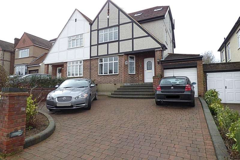 4 Bedrooms Semi Detached House for sale in Waldegrave Gardens, Upminster, Essex RM14