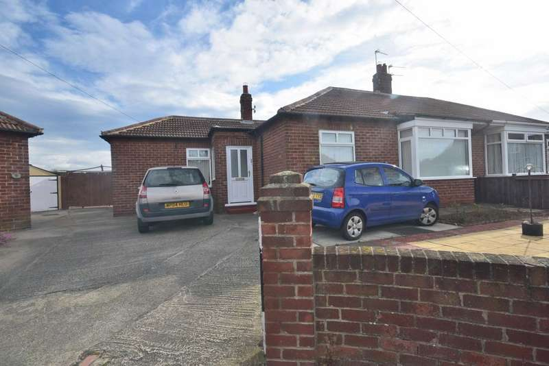 2 Bedrooms Semi Detached Bungalow for sale in Barnard Grove, Recar TS10