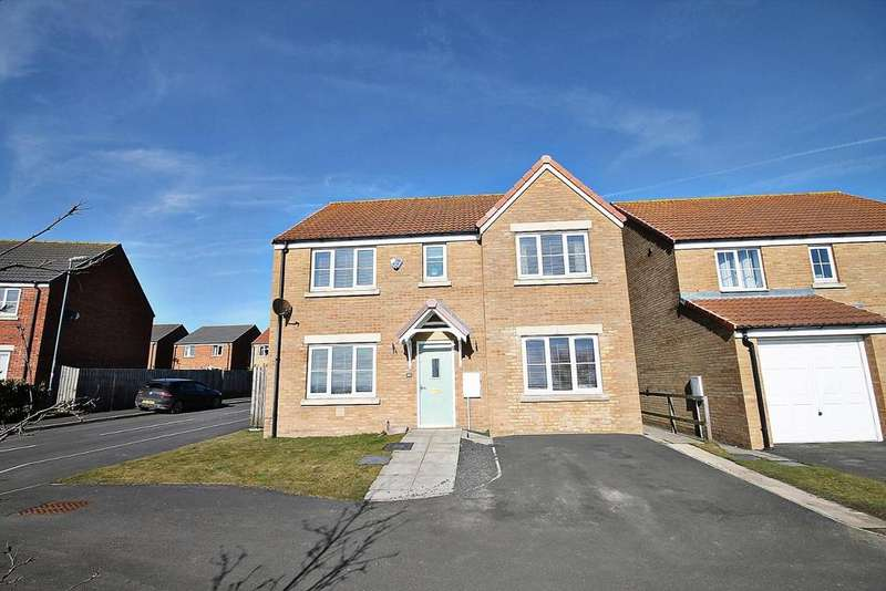 5 Bedrooms Detached House for sale in Deerness Heights, Stanley, Crook