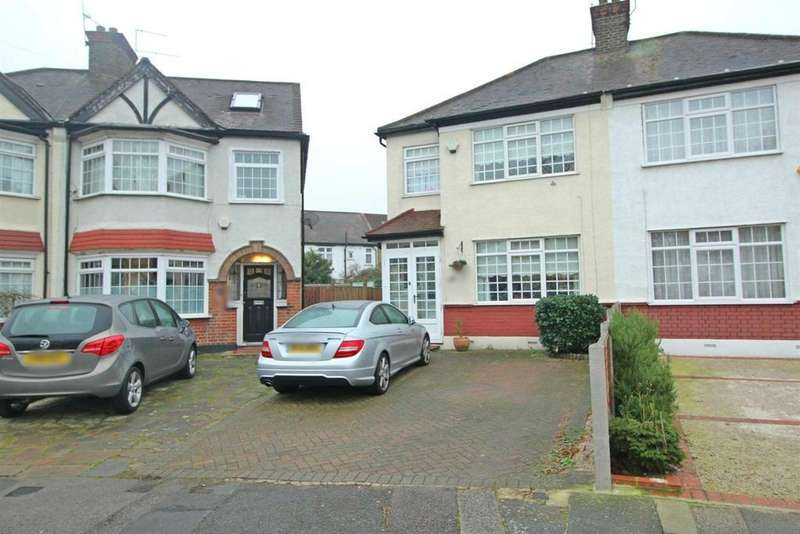 4 Bedrooms Semi Detached House for sale in Hazelwood Road, Enfield