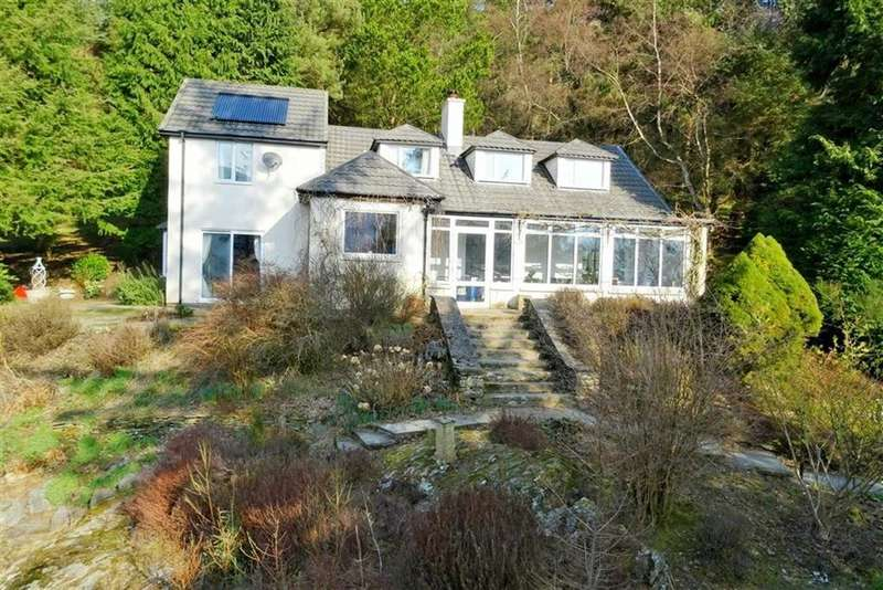 4 Bedrooms Detached House for sale in Garregllwyd, Rhayader, Powys, LD6