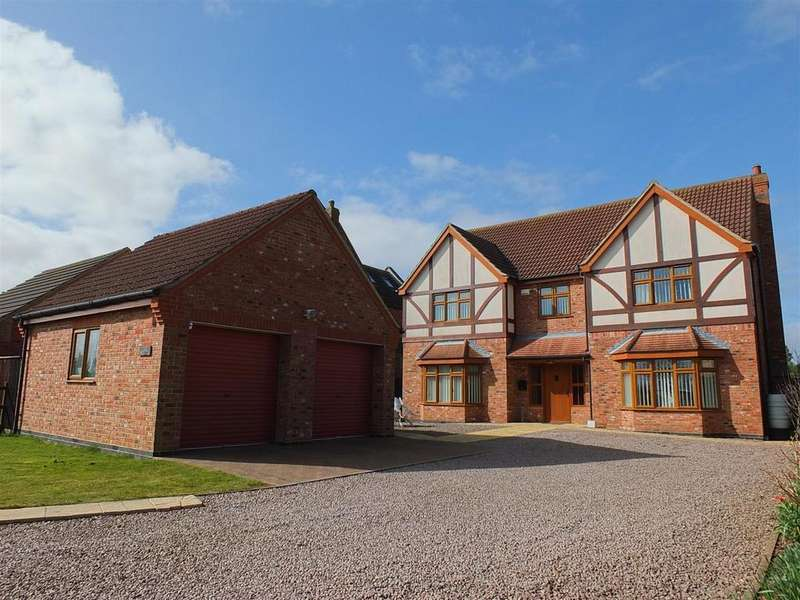 5 Bedrooms Detached House for sale in Lutton Gowts, Lutton