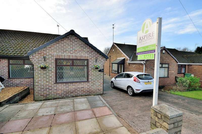 2 Bedrooms Semi Detached Bungalow for sale in Rookery Drive, Rainford