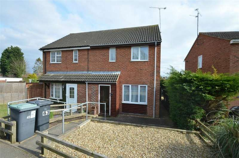 2 Bedrooms Semi Detached House for sale in Long Close, LOWER STONDON, Bedfordshire