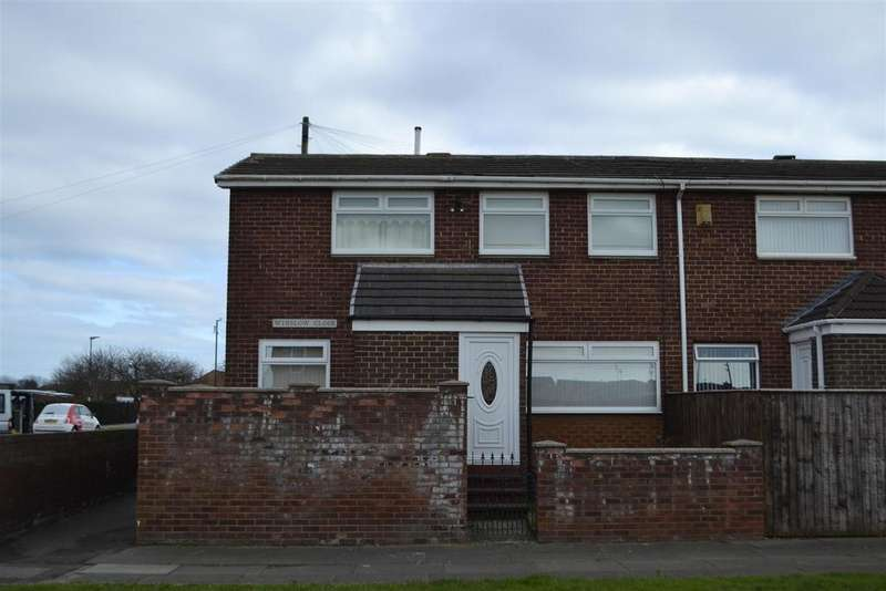 3 Bedrooms End Of Terrace House for sale in Winslow Close, Sunderland