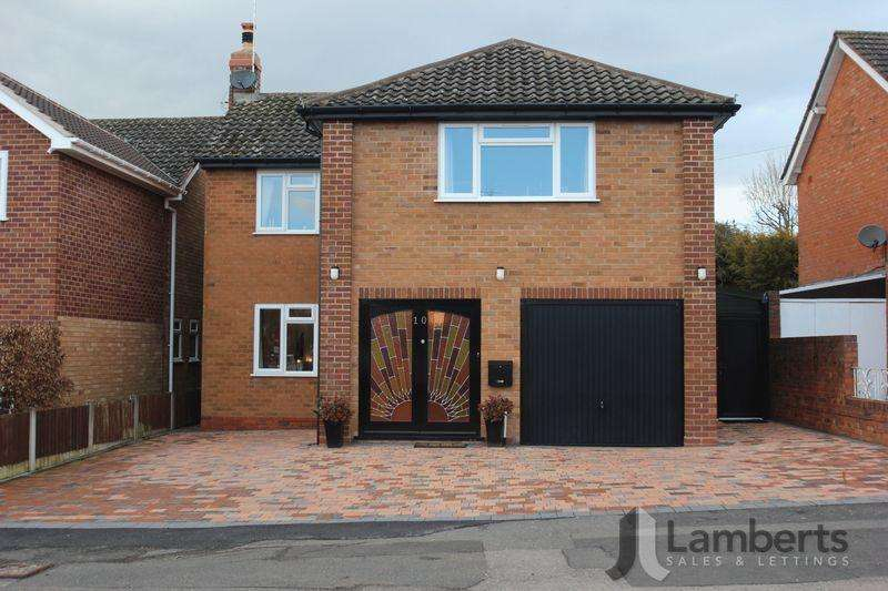 4 Bedrooms Detached House for sale in Tynsall Avenue, Webheath, Redditch