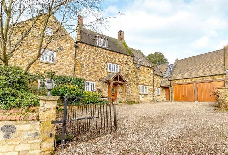 4 Bedrooms Detached House for sale in Main Street, Ashley, Market Harborough, Leicestershire