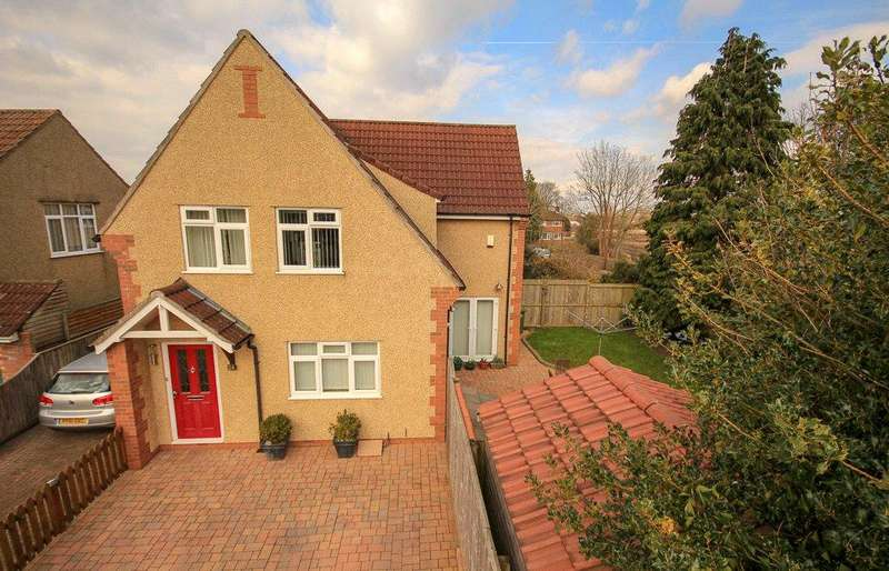 3 Bedrooms Detached House for sale in Morley Avenue, Mangotsfield, Bristol, BS16