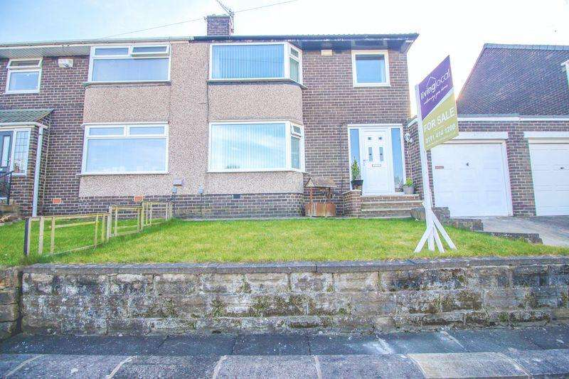 3 Bedrooms Semi Detached House for sale in Thornton Crescent, Blaydon