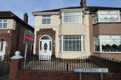 3 Bedrooms House for sale in St Matthews Avenue, Liverpool, Merseyside, L21