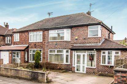 3 Bedrooms Semi Detached House for sale in Newcroft Crescent, Urmston, Manchester, Greater Manchester
