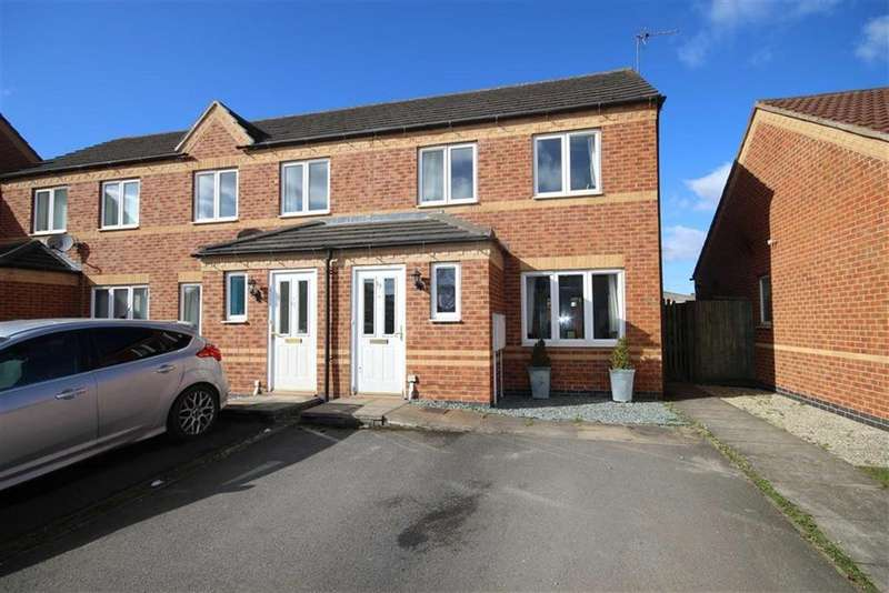 2 Bedrooms Semi Detached House for sale in Flinders Way, Cherry Willingham, Lincoln, Lincolnshire
