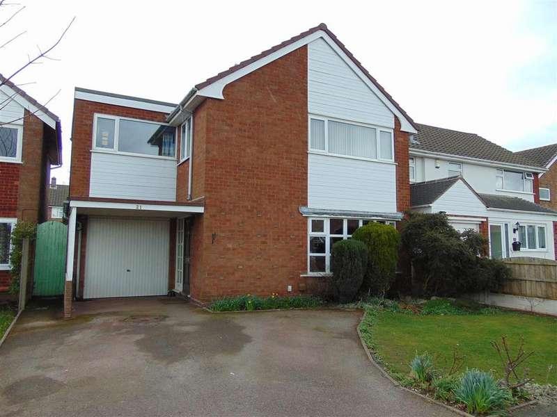 4 Bedrooms Detached House for sale in Meadow Road, Aldridge
