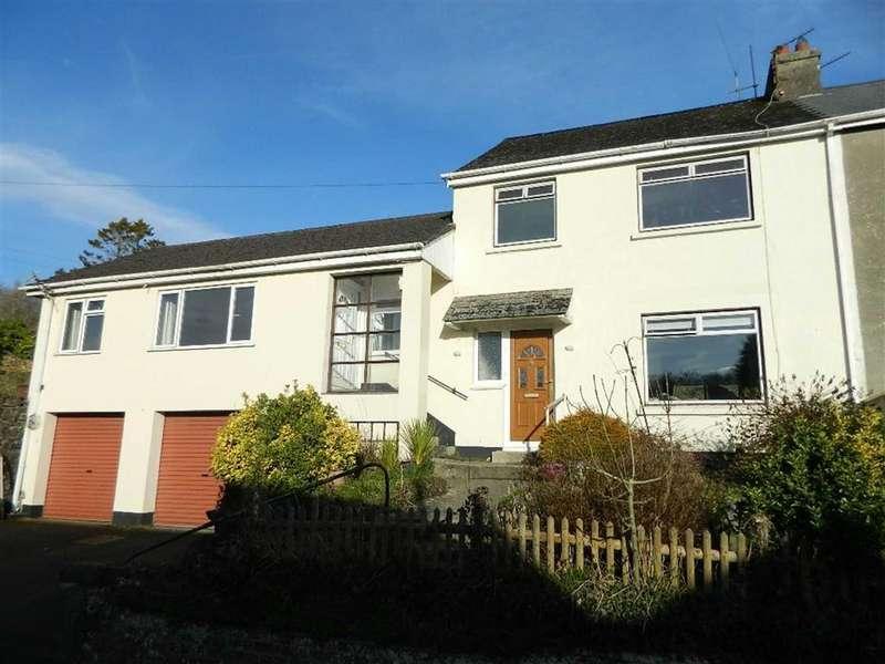 3 Bedrooms Semi Detached House for sale in Old Road, Harbertonford, Devon, TQ9