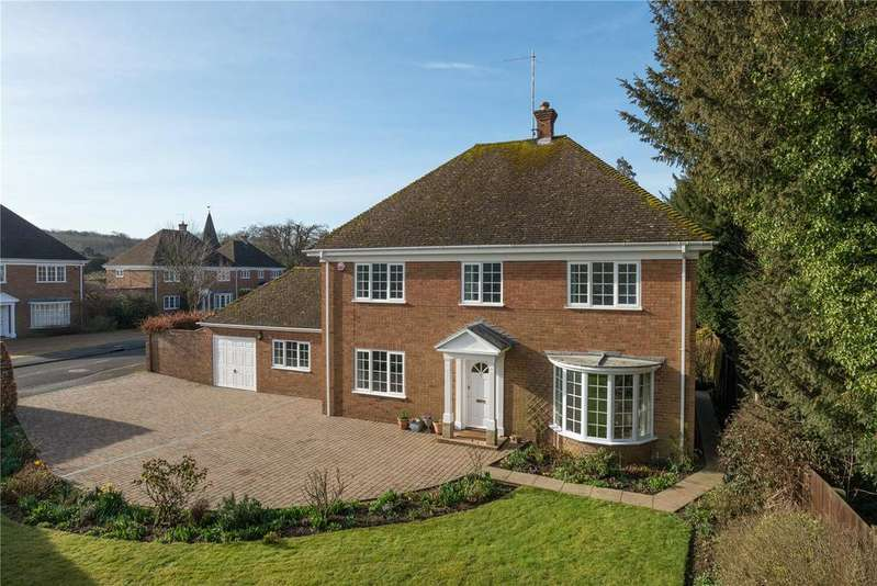5 Bedrooms Detached House for sale in St Marys Road, Patrixbourne, Canterbury, Kent