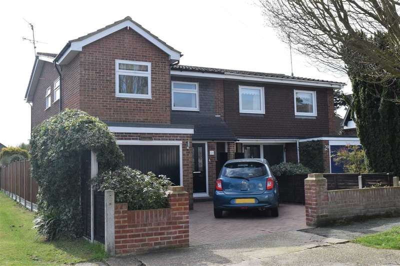 4 Bedrooms Semi Detached House for sale in Fourth Avenue, Chelmsford