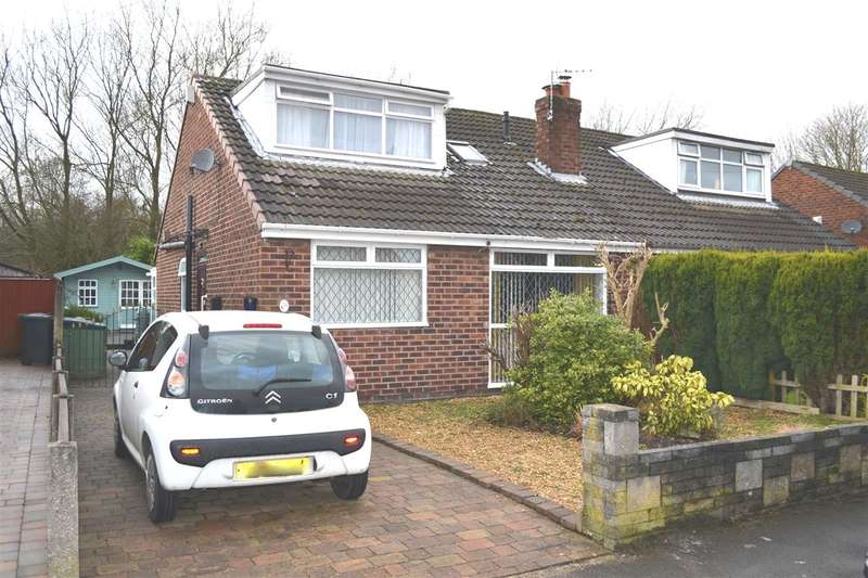3 Bedrooms Semi Detached House for sale in Johnson Close, Leigh