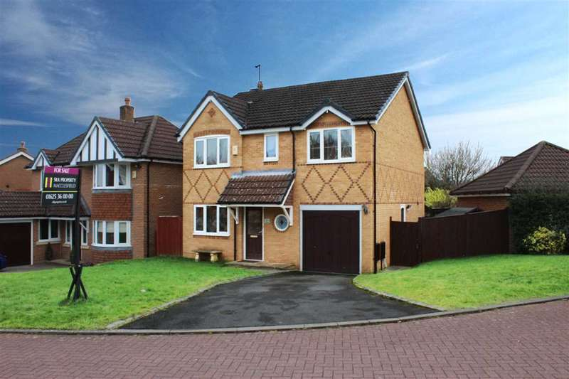 4 Bedrooms Detached House for sale in Ploughmans Way, Macclesfield