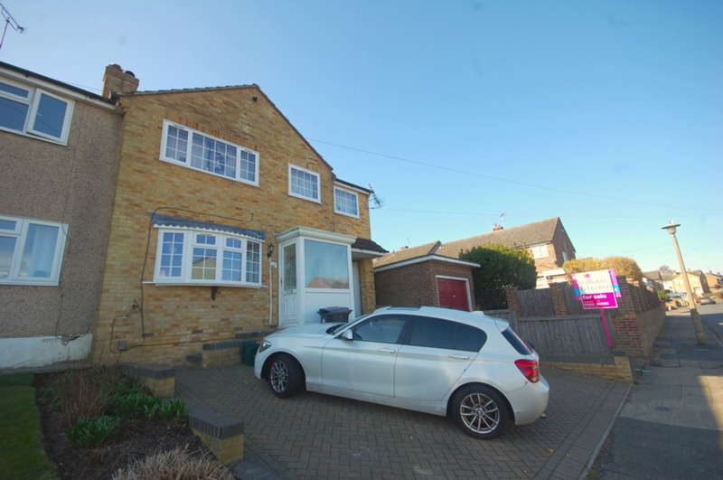 4 Bedrooms Semi Detached House for sale in Lime Walk, Moulsham Lodge, Chelmsford, CM2