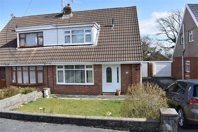 3 Bedrooms Semi Detached House for sale in Cleviston Park, Llangennech, Llanelli