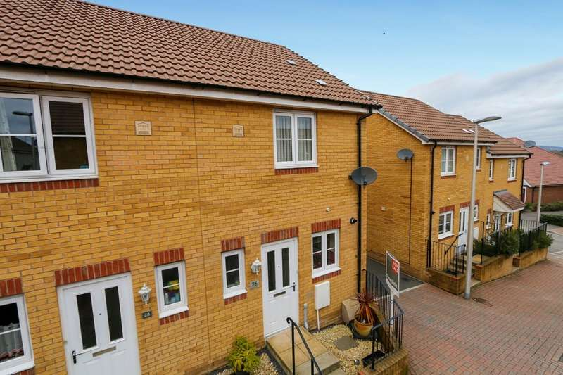 2 Bedrooms Semi Detached House for sale in Meadow Rise, Newton Abbot