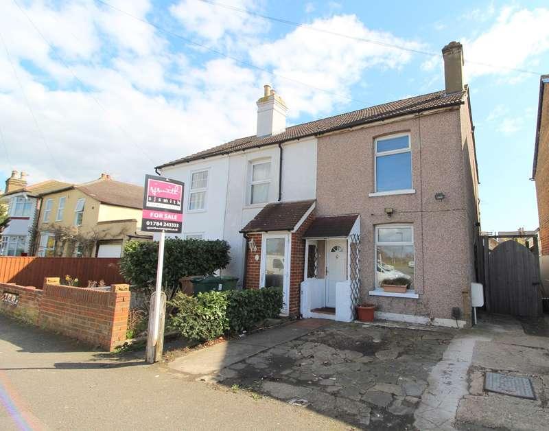 2 Bedrooms End Of Terrace House for sale in Woodthorpe Road, Ashford, TW15
