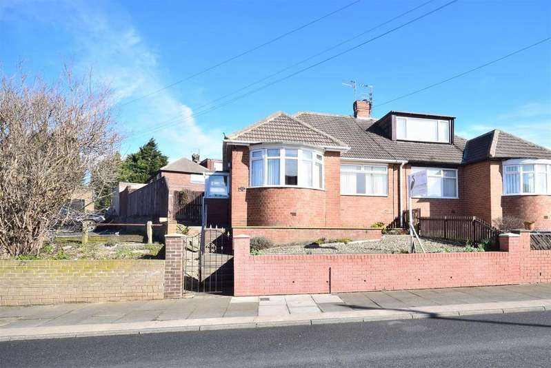 2 Bedrooms Semi Detached Bungalow for sale in Wavendon Crescent, High Barnes, Sunderland