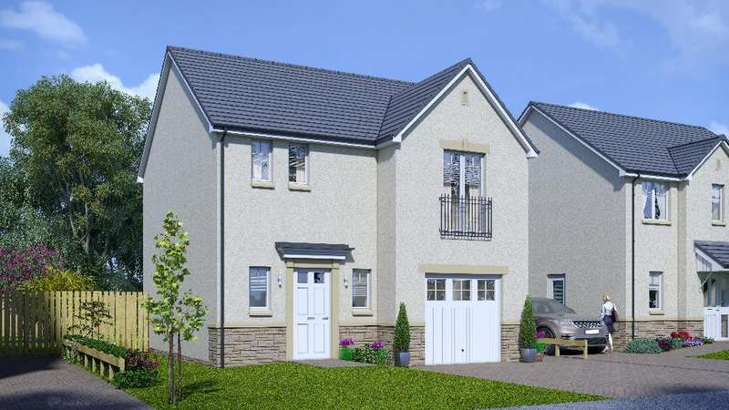 3 Bedrooms Detached House for sale in Plot 79 Cheviot, Oaktree Gardens, Alloa Park, Alloa, Stirling, FK10 1QY
