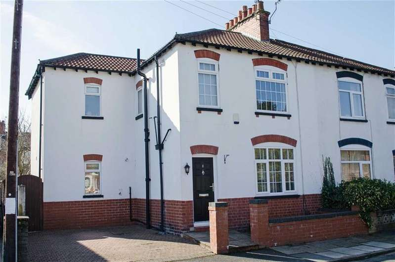 4 Bedrooms Semi Detached House for sale in Moorland Avenue, Sale