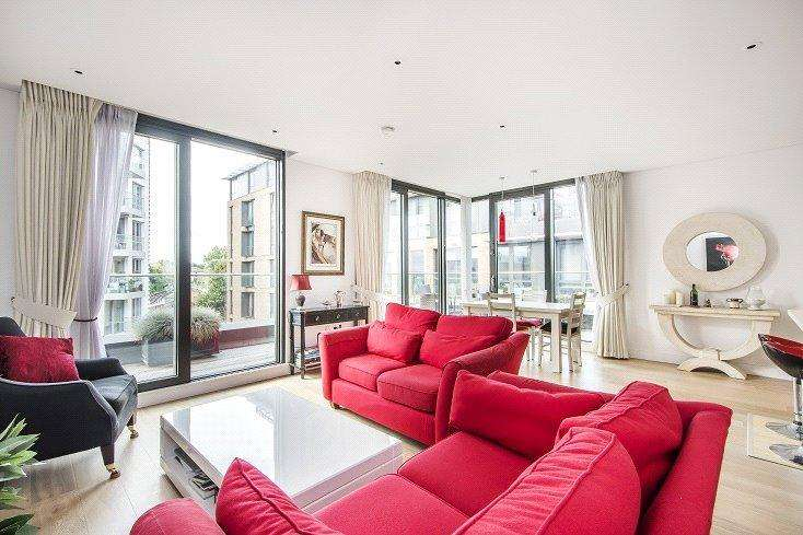 2 Bedrooms Penthouse Flat for sale in Millennium House, Plaza Gardens, London, SW15