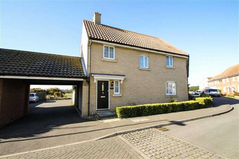 3 Bedrooms Semi Detached House for sale in Harpers Way, Clacton-on-Sea
