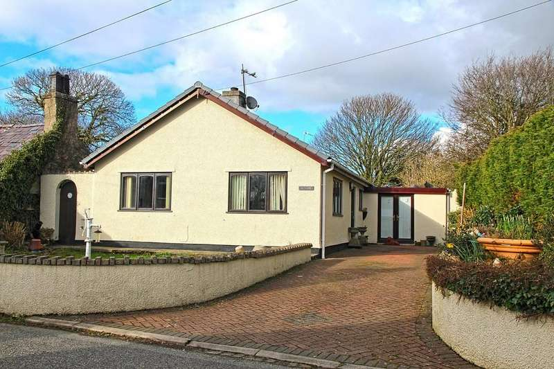 3 Bedrooms Detached Bungalow for sale in Dwyran, Anglesey, North Wales