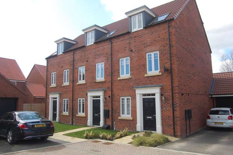 3 Bedrooms Town House for sale in Mayfair Court, Northallerton