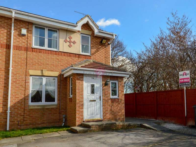 3 Bedrooms End Of Terrace House for sale in Myrtle Springs Drive, Sheffield, S12
