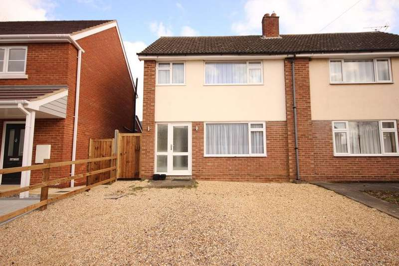3 Bedrooms Semi Detached House for sale in Silver End Road, Haynes, MK45