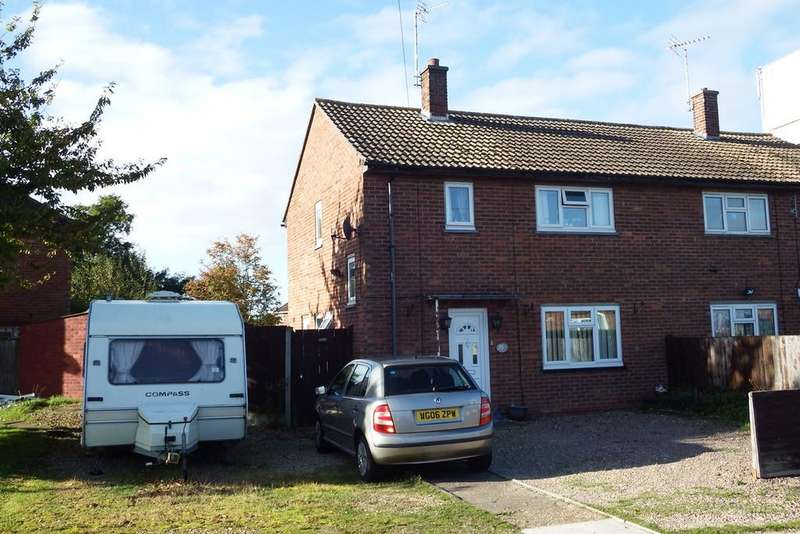 3 Bedrooms Semi Detached House for sale in Brownlow Crescent, Pinchbeck, PE11