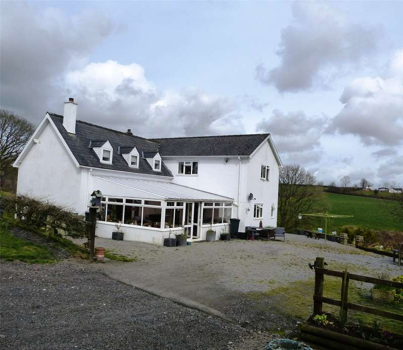 5 Bedrooms Detached House for sale in Spite House, Henllan Amgoed, Whitland, Carmarthenshire