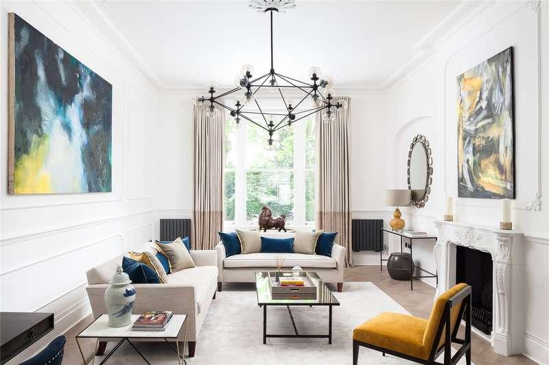 3 Bedrooms Maisonette Flat for sale in Cornwall Gardens, South Kensington, London, SW7